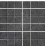 NORD CERAM Mosaik Gent GET7150 anthrazit 5x5, R10B - 30x30 cm