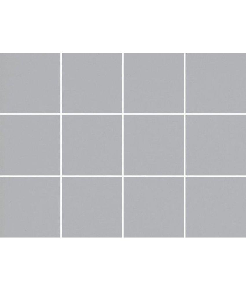 Steinzeug-Mosaik Caldero 1010281D Grau Matt, 10x10, Glasiert, R10/B, Abr. IV - 30x40 cm