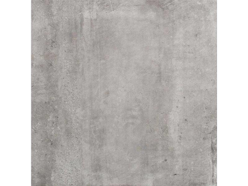 McTile Venosa Feinsteinzeug glasiert Bodenfliesen 6060220G Grau, rektifiziert / R10, Abr.4 - 60x60cm
