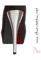 """the shoe-tattoo the shoe-tattoo """"Leather BLACK-RED"""""""