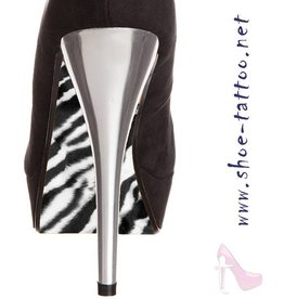 the shoe-tattoo Zebra