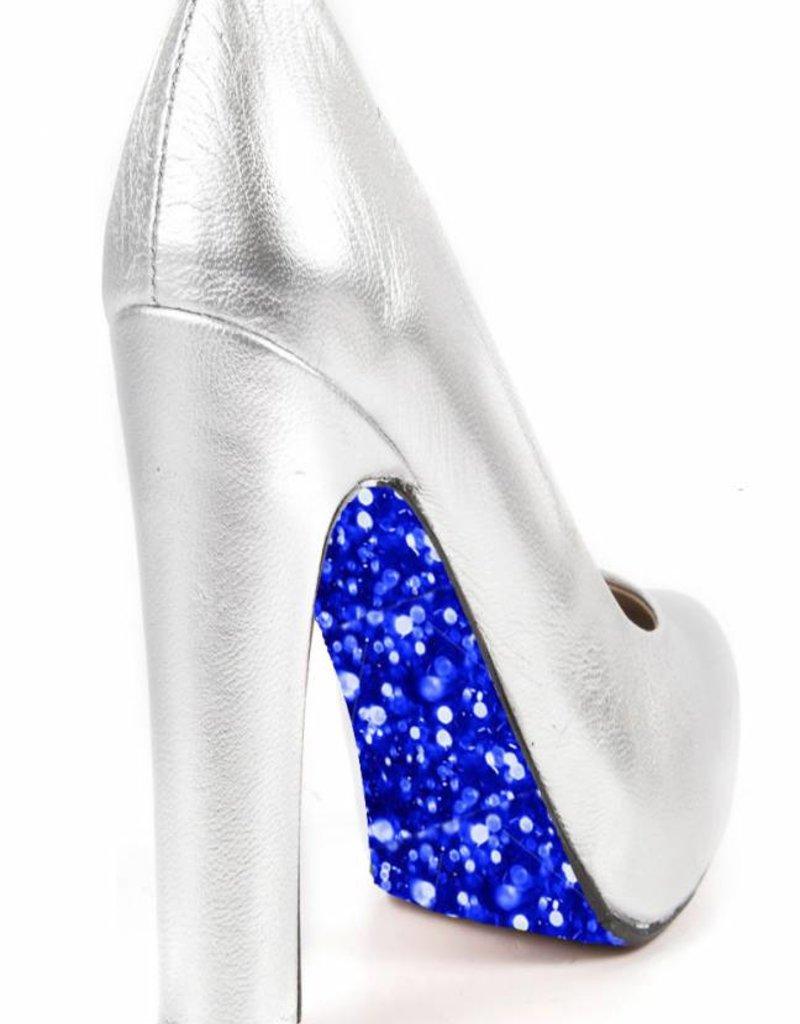 "the shoe-tattoo the shoe-tattoo ""Glitter BLUE"""