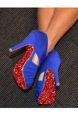 "the shoe-tattoo the shoe-tattoo ""Glitter RED"""