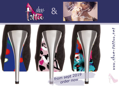 Ina Alber ART shoe-tattoos
