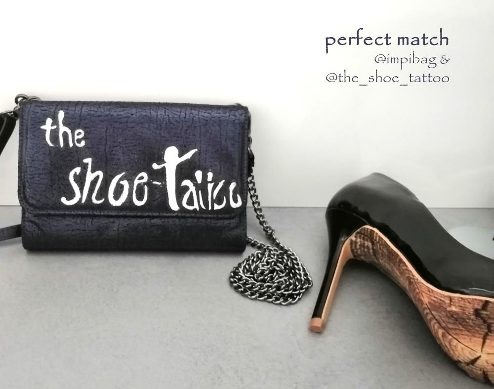 Impibag und shoe-tattoo