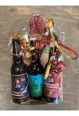 Landwinkel  Kerstpakket met leuke en lekkere producten uit de regio