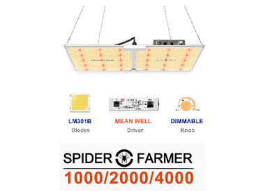 Spider Farmer LED kweeklamp