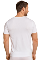 Schiesser Long Life Soft v-hals t-shirt wit