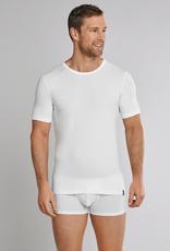 Schiesser 95/5 ronde hals t-shirt wit