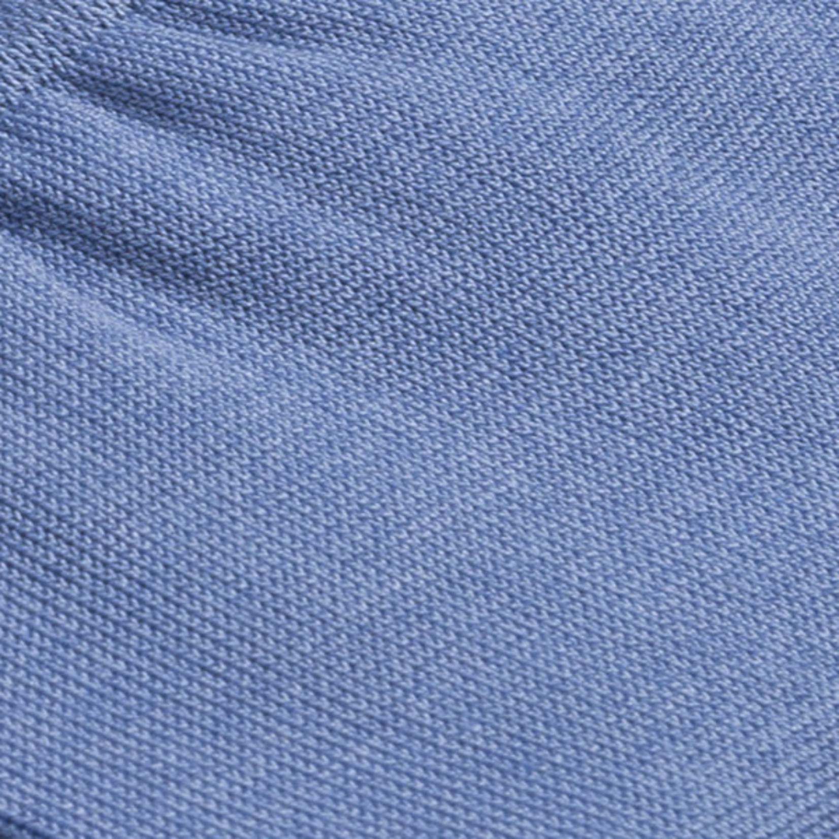 Carlo Lanza blauwe katoenen sokken