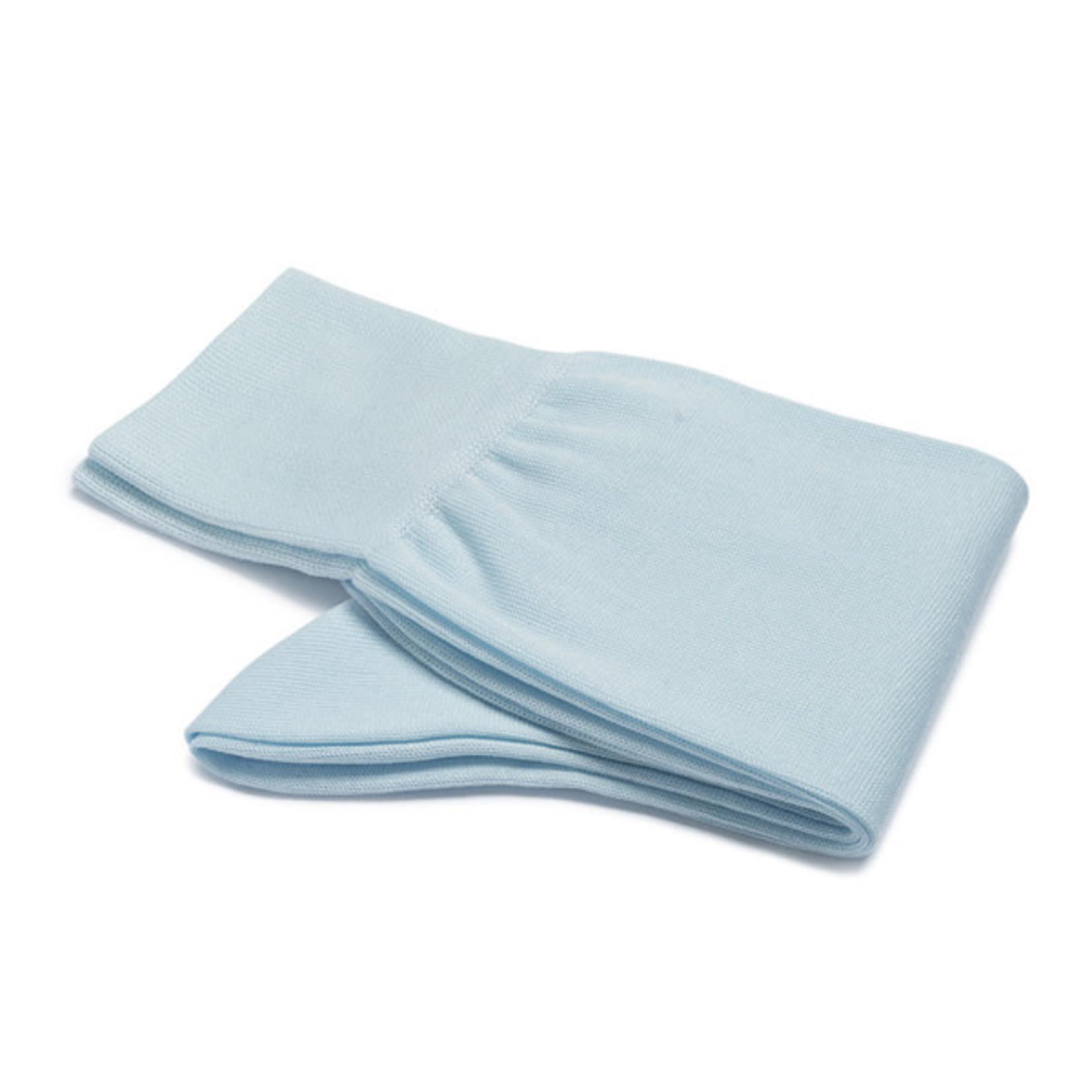 Carlo Lanza lichtblauwe katoenen sokken