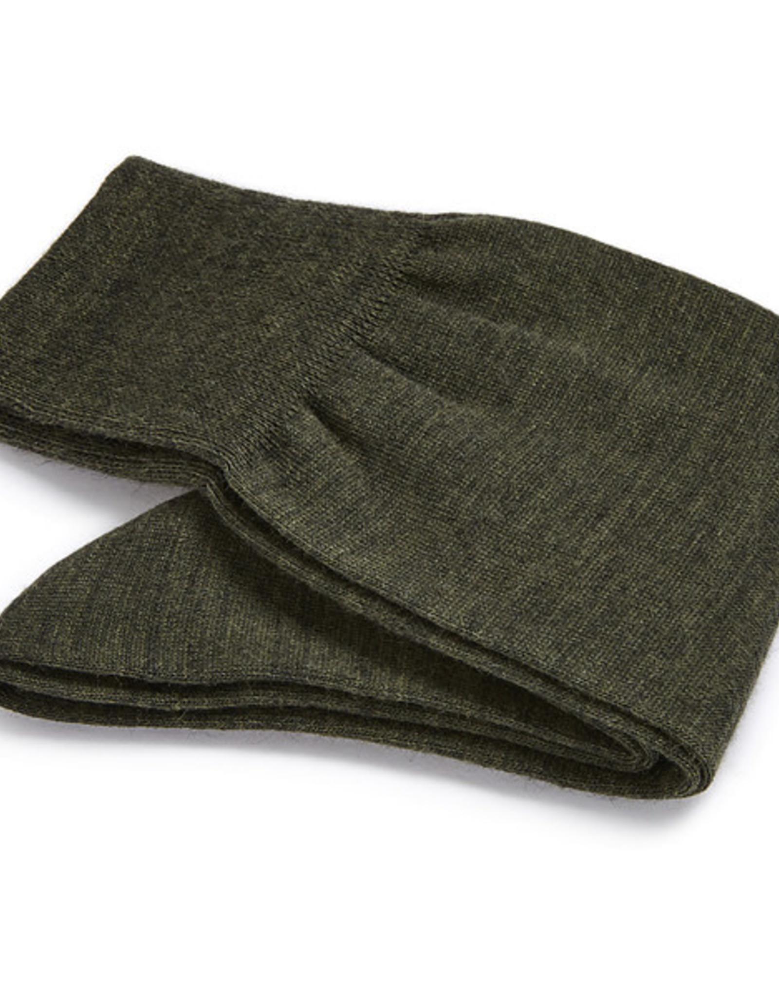 Carlo Lanza korte sokken wol groen