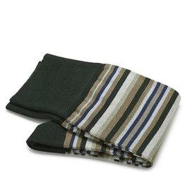 Carlo Lanza sokken groene streep