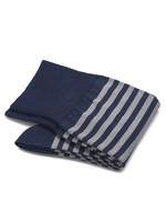 Carlo Lanza sokken royalblauwe streep