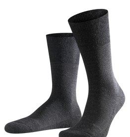 Falke Airport Plus korte sokken antraciet