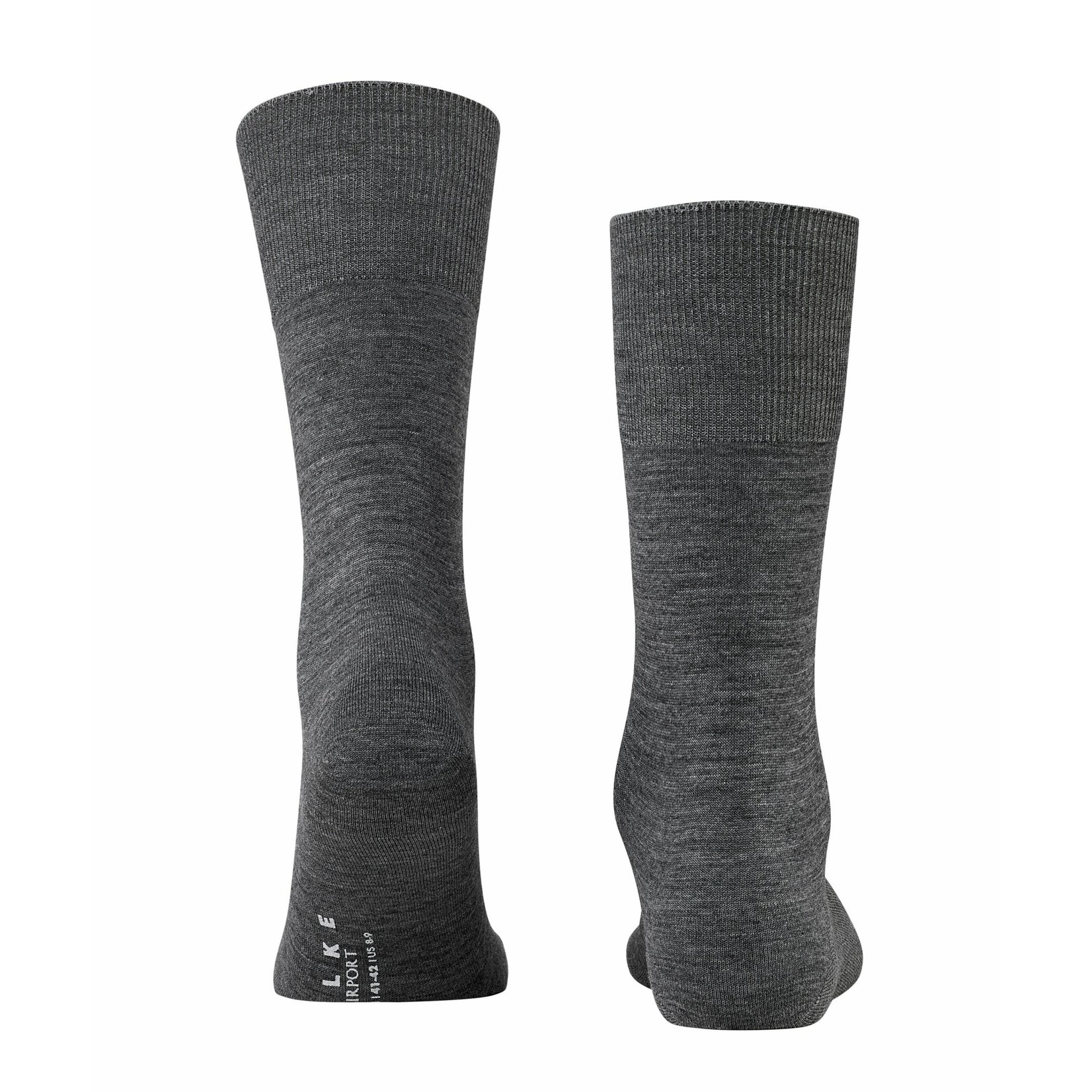 Falke Airport sokken donkergrijs