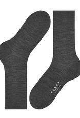 Falke Airport korte sokken donkergrijs