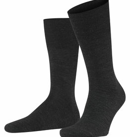 Falke Airport sokken antraciet melange