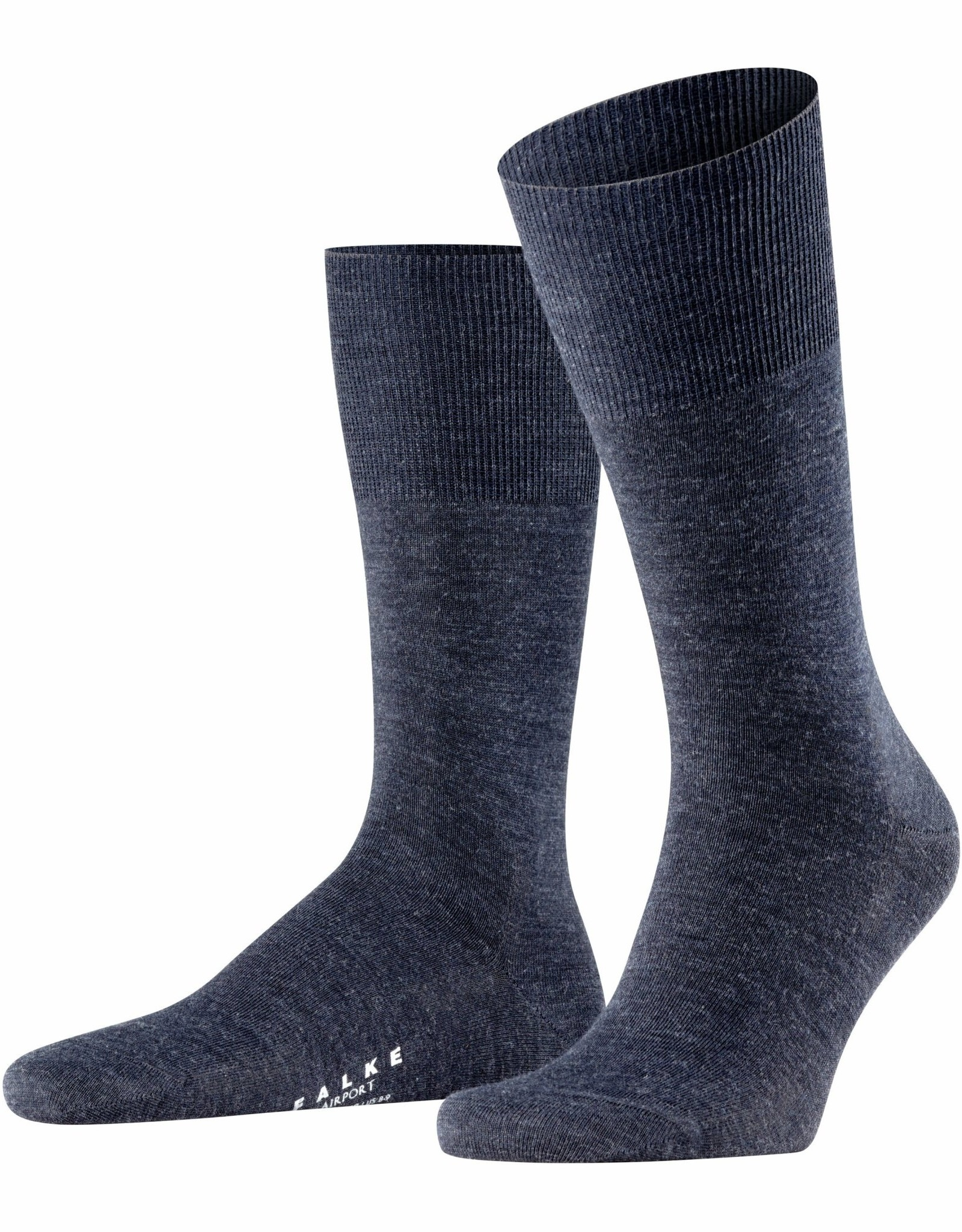 Falke Airport korte sokken indigo