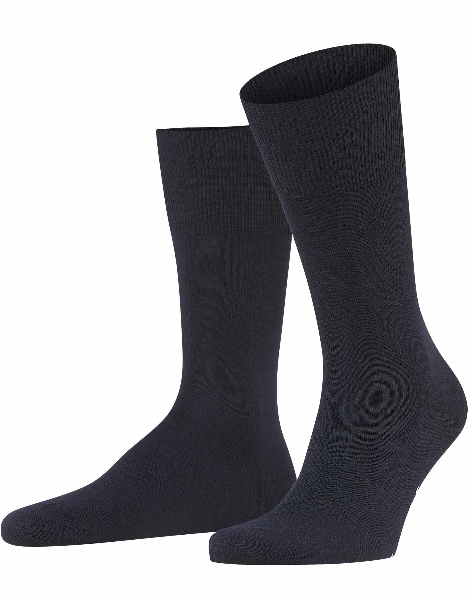 Falke Airport korte sokken marine