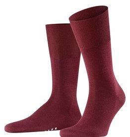 Falke Airport sokken bordeaux