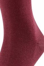 Falke Airport sokken bordeaux rood