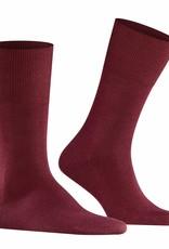 Falke Airport korte sokken bordeaux rood