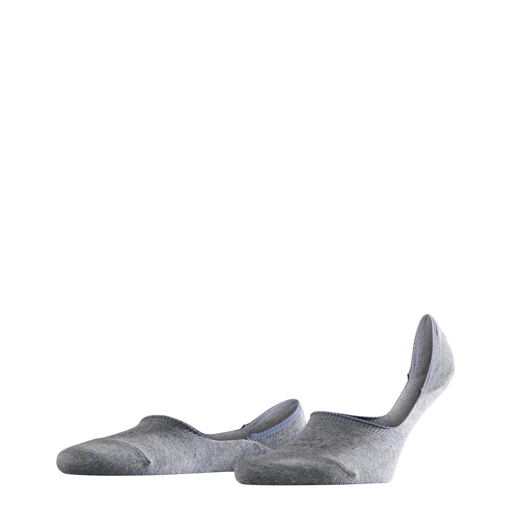 Falke Step Invisible sokken lichtgrijs melange