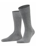 Falke Family korte sokken lichtgrijs