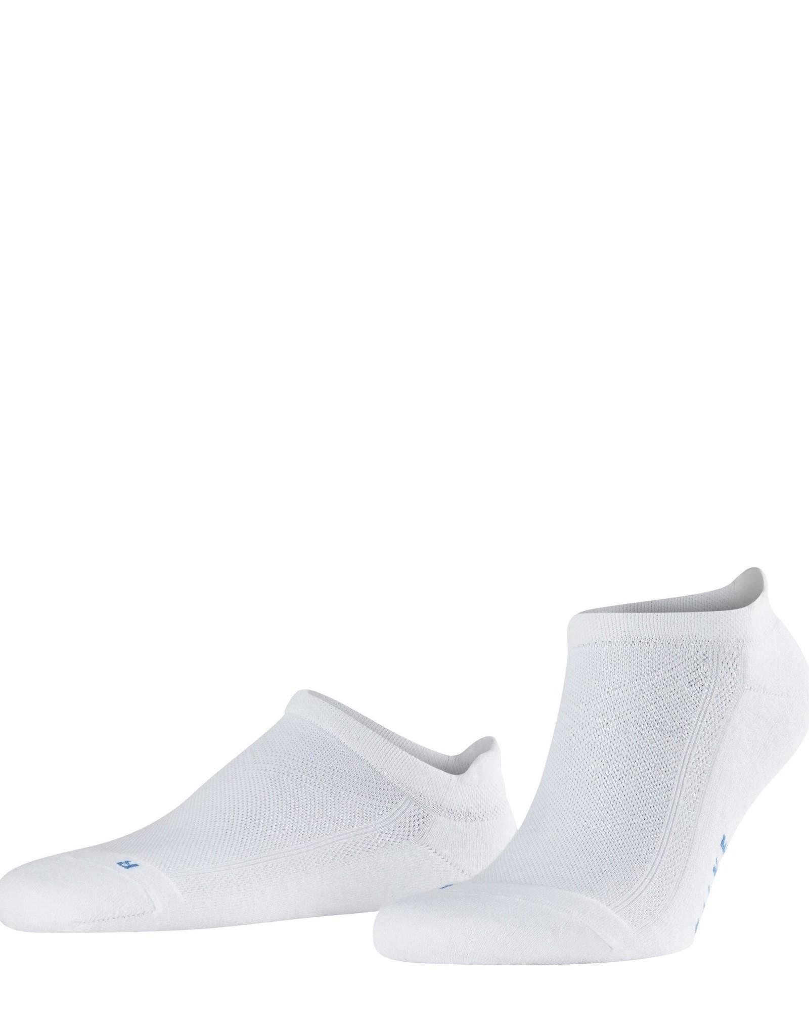Falke Cool Kick unisex sneakersokken wit