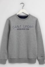 GANT sport sweater grijs