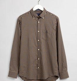 GANT overhemd khaki ruit
