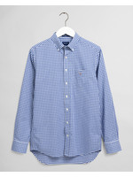 GANT overhemd blauwe ruit