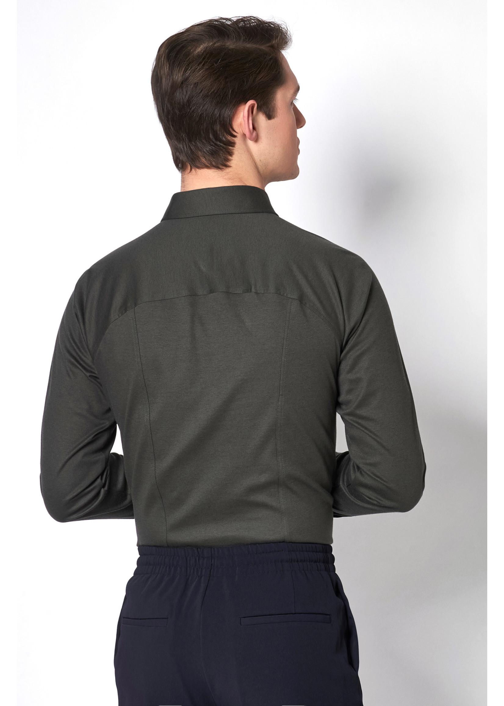 Desoto jersey overhemd groen