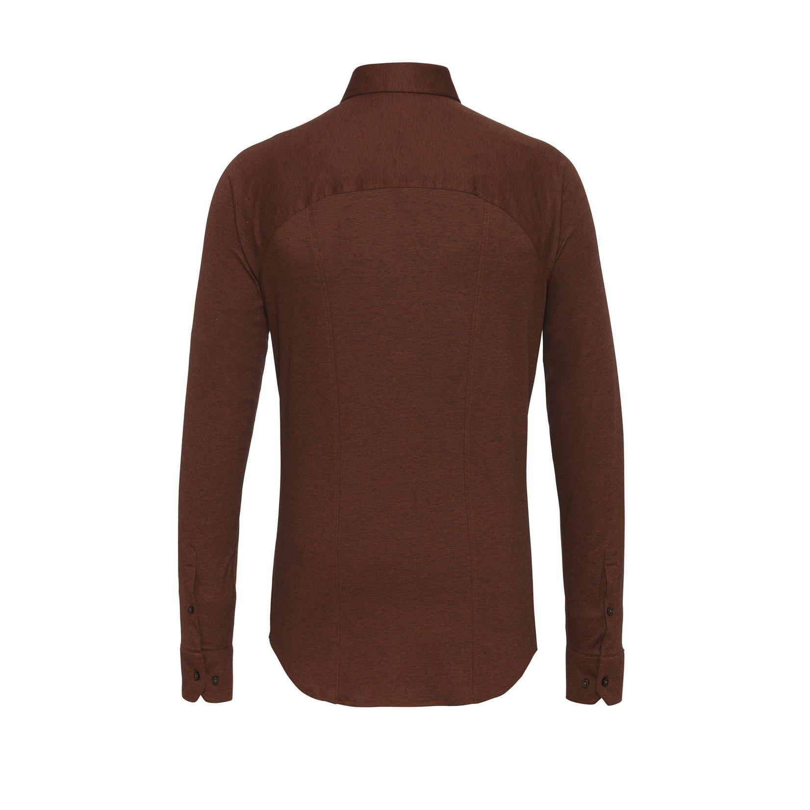 Desoto jersey overhemd brique