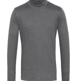 Desoto jersey kol pullover grijs
