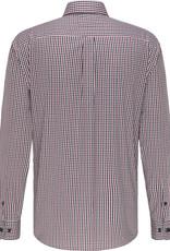Fynch-Hatton twill shirt rode ruit
