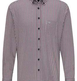 Fynch-Hatton twill shirt rode ruit