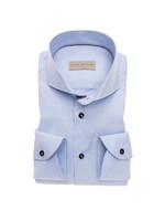John Miller tailored fit overhemd lichtblauw
