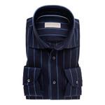 John Miller tailored fit overhemd marine streep
