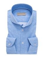John Miller slim fit overhemd lichtblauw