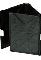 Exentri Wallet met RFID-bescherming chess zwart