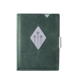 Exentri Wallet met RFID-bescherming smaragd groen