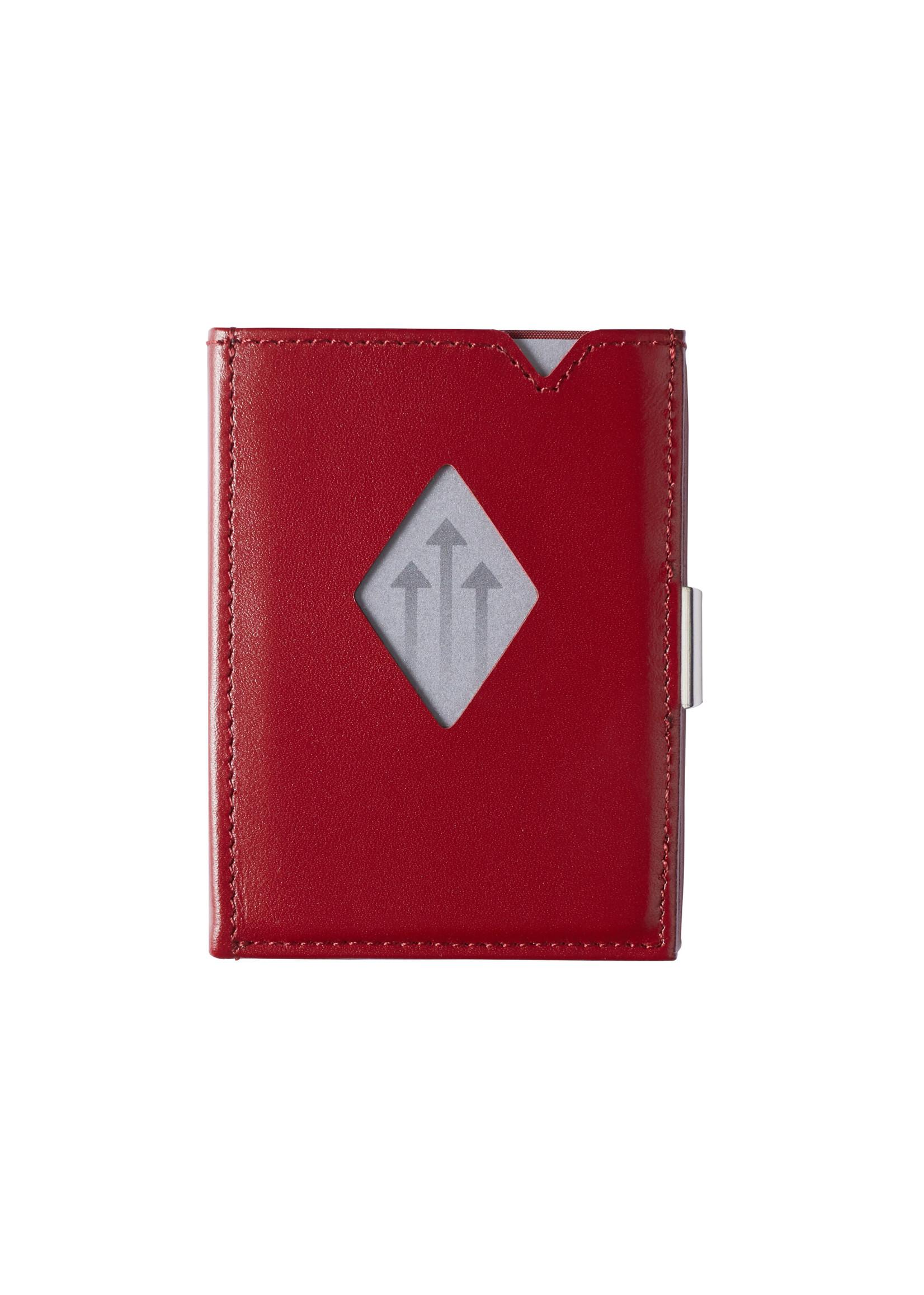 Exentri Wallet met RFID-bescherming rood