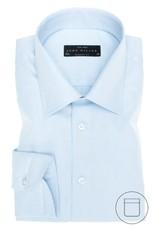 John Miller modern fit overhemd lichtblauw met semi spread boord