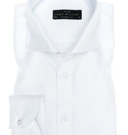 John Miller tailored fit overhemd wit