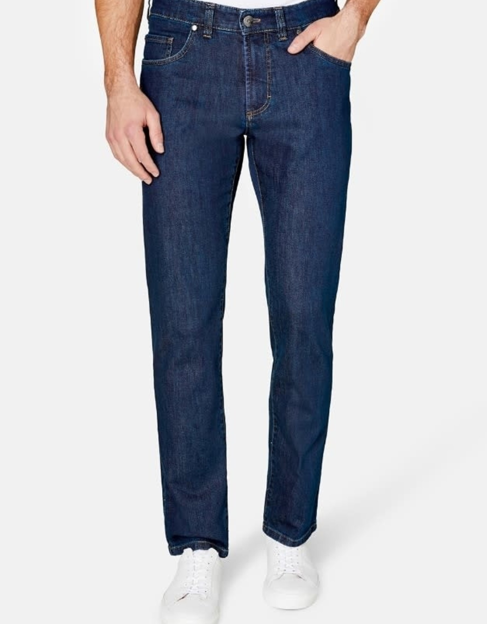 Gardeur Nevio-11 regular fit jeans blauw 470181-067