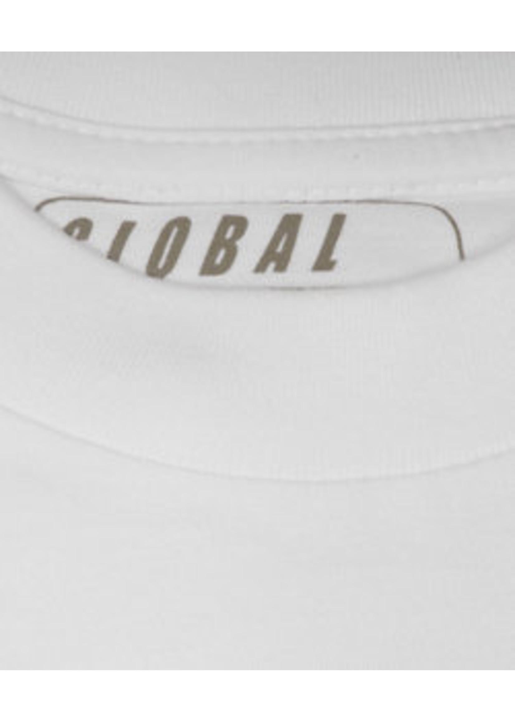 Global5 model Sam 2-pack ronde hals t-shirt
