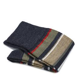 Carlo Lanza sokken rode strepen