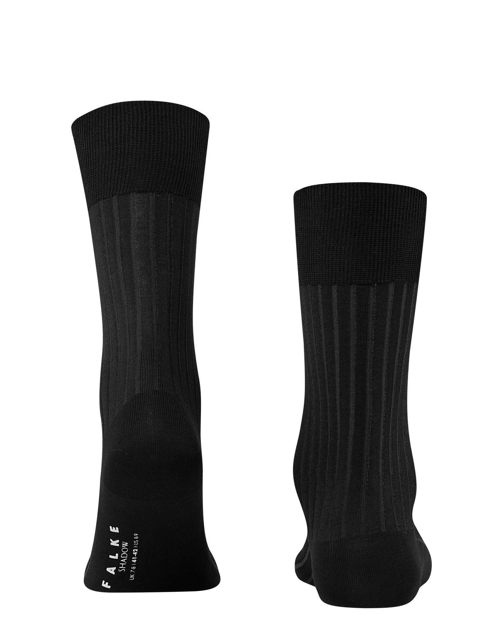 Falke Shadow korte sokken donkergrijs melange